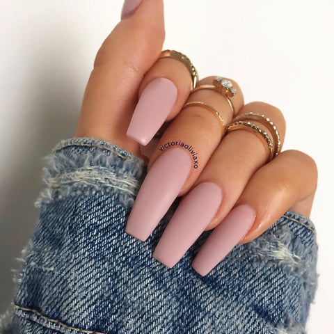 exposed nail color