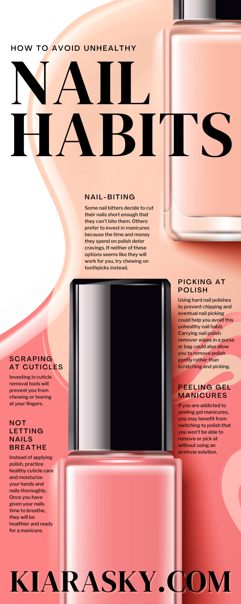 How To Avoid Unhealthy Nail Habits