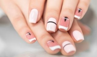 Unique and Abstract Nail Designs