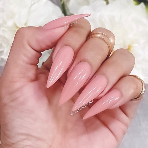 etiquette first pink nail polish