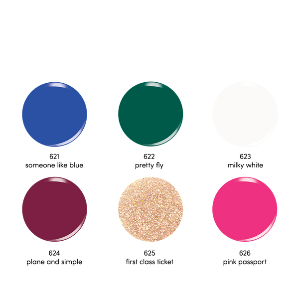JETSETTER COLLECTION-DIP POWDER