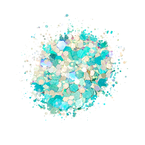 SP222 Loose Glitter Swatch