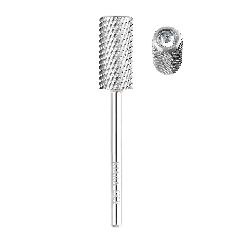 KS Large Barrel Coarse Drill Bit Silver