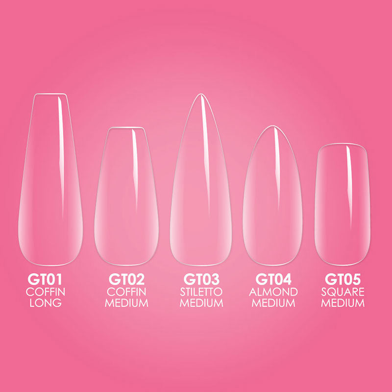 Available Gelly Tip Shapes