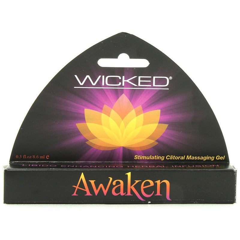 Wicked Sensual Care Awaken Stimulating Clitoral Massaging Gel - .3 Oz