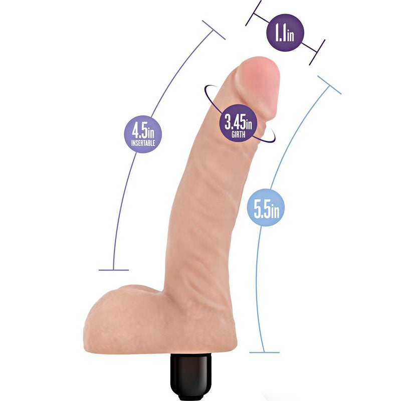 Blush X5 Basic 5 Vibrating Dildo