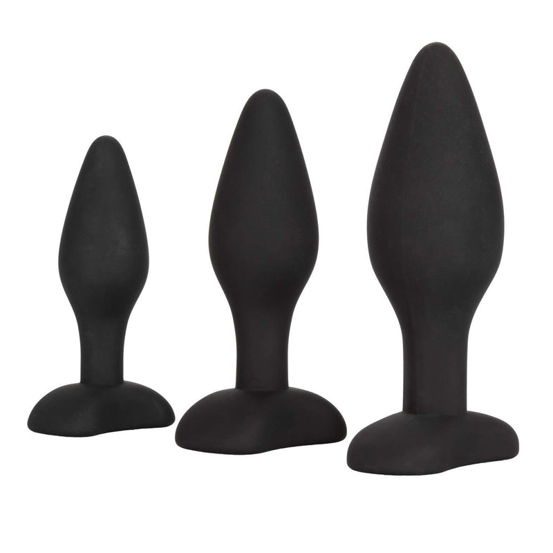 3 Piece Silicone Anal Exerciser Kit