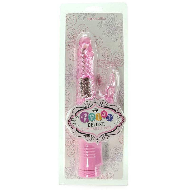 4play Deluxe Slim Rabbit Vibrator