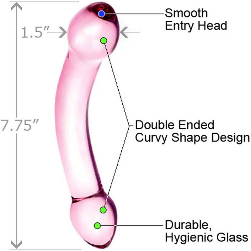 Glas Double Sided Glass Dildo