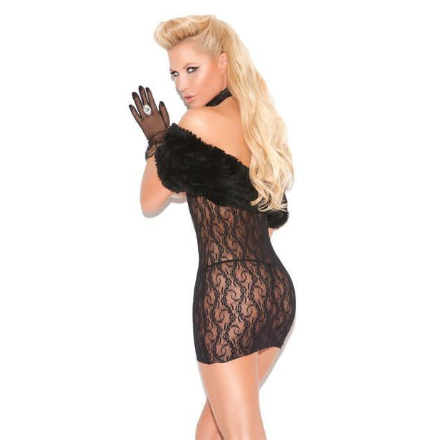 Cupless Lace Dress