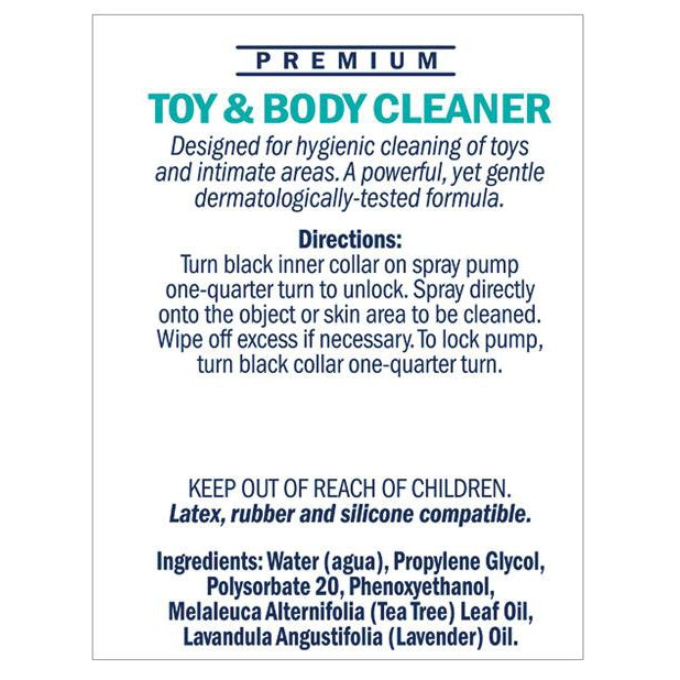Swiss Navy Toy & Body Cleaner