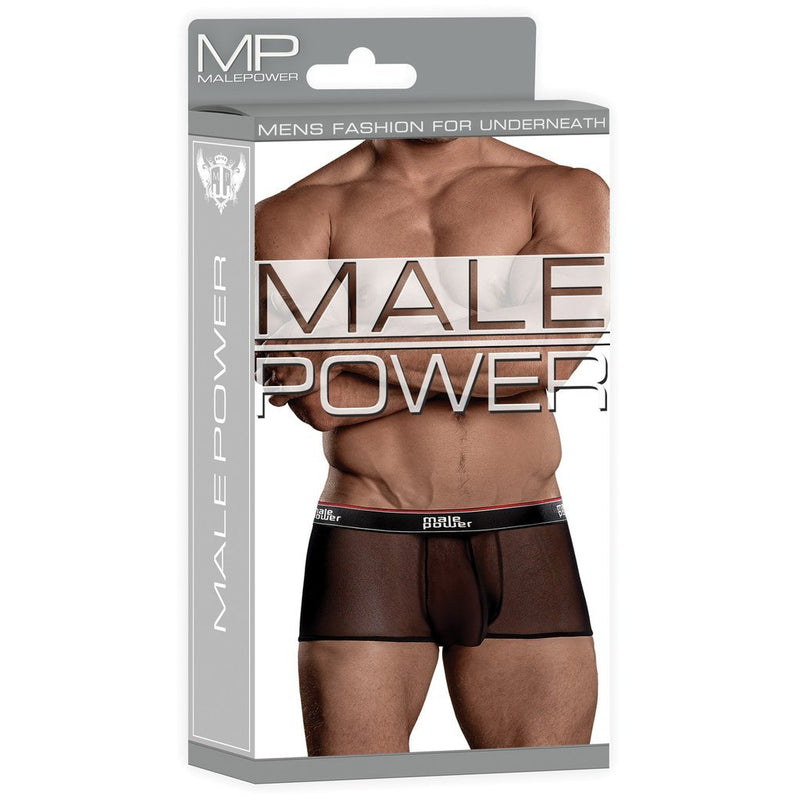 Men's Black Sheer Short