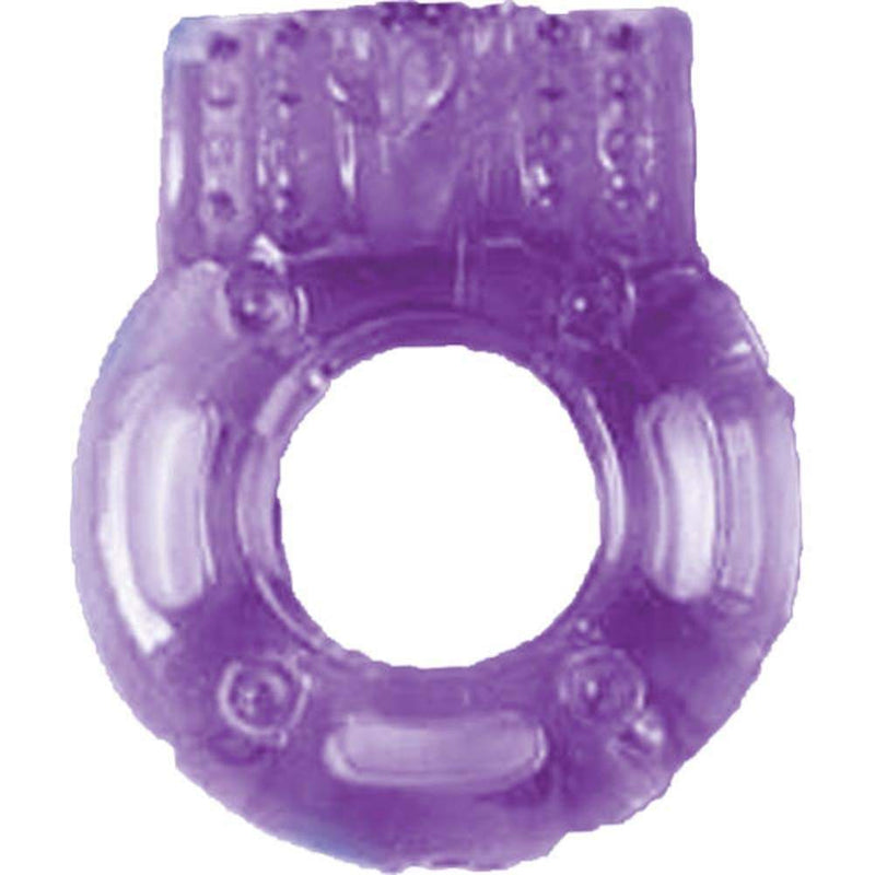 The Macho Cock Ring With Clit Vibrator