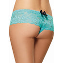 Lace Crotchless Boyshort