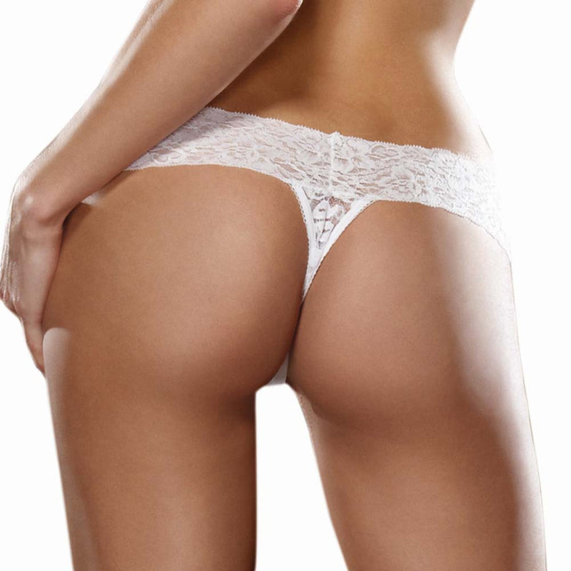 Stretch Lace Thong