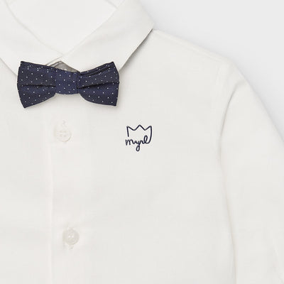 Button Up and Bow Tie