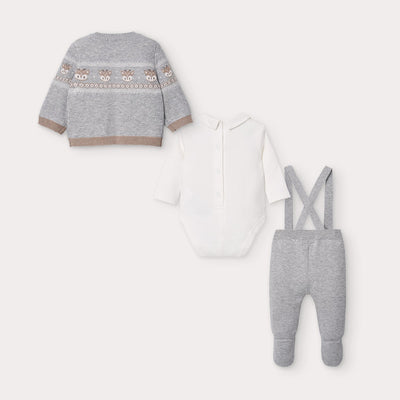3 Knit Pcs Set