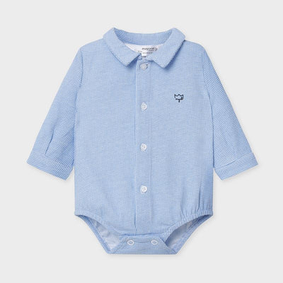 Longsleeve Button Down Onesie