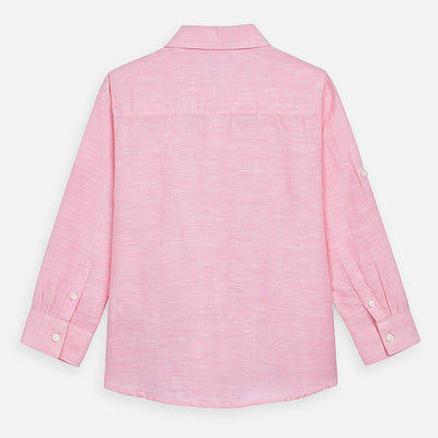 Linen Long Sleeve Button Down