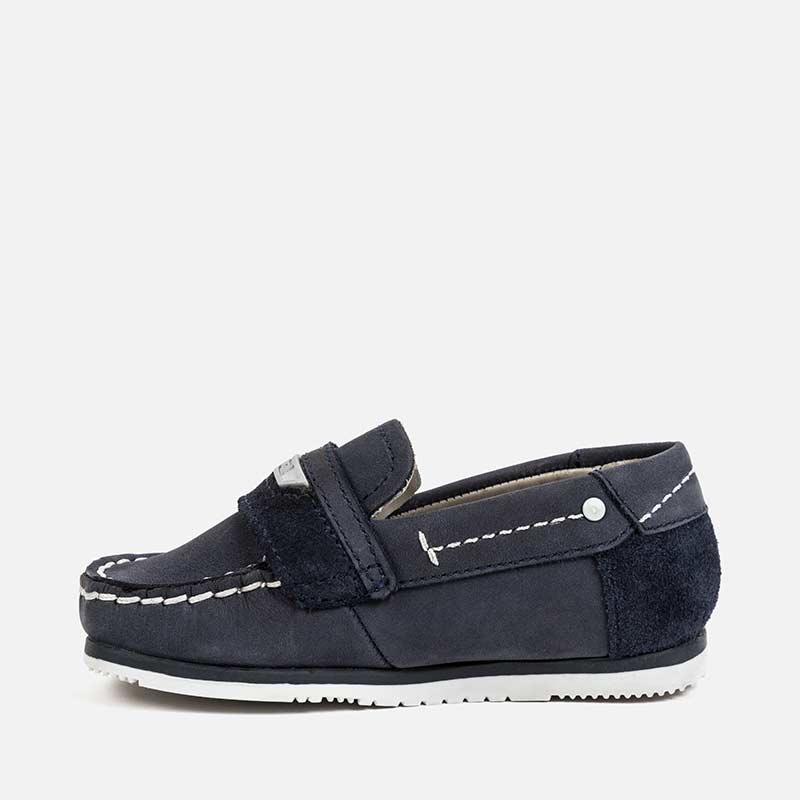 Navy Boat Shoe