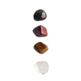 Focus * Black Onyx, Red Tiger Eye, Tiger Eye & Crystal Quartz
