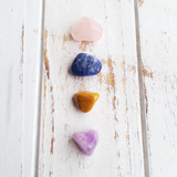 Forgiveness, Love, Compassion & Understanding Set * Rose Quartz,