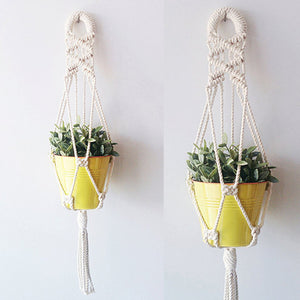 Cross Hanging Planter