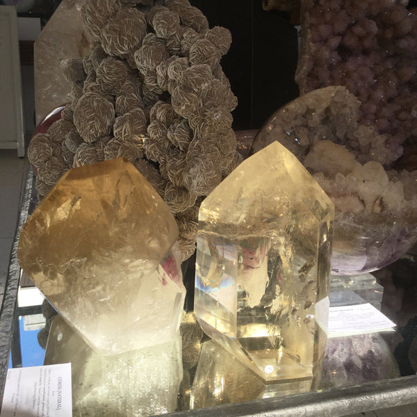 Natural premium Citrine Crytals at Venusrox