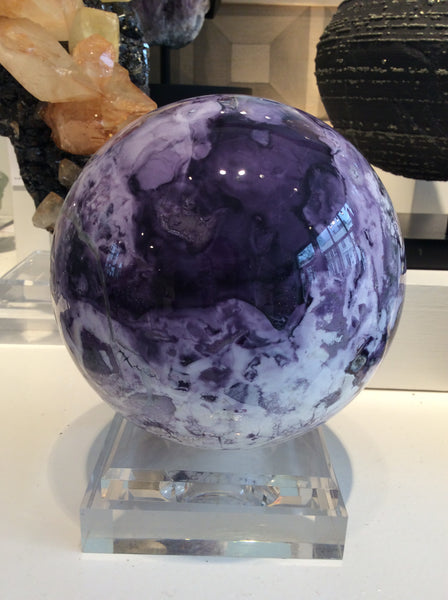 Rare Tiffany Stone Sphere at Venusrox Crystals London