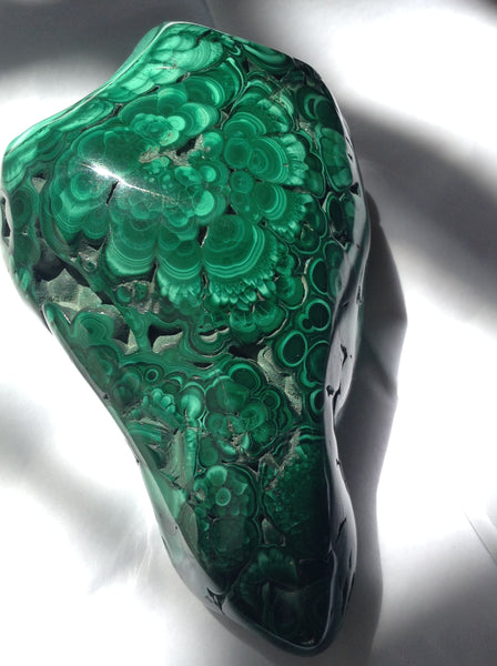 Venusrox Malachite Polished Crystal London