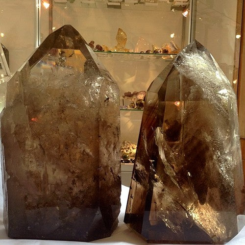 Venusrox Large Smoky Quartz Premier Crystal Points