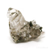 Clear Quartz with Epidote on Matrix Natural Cluster from Brazil | Venusrox