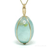 Aquamarine Polished Crystal Pendant from Madagascar | Venusrox