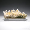 Golden Himalayan Chlorite Quartz Natural Cluster from the Meru Peak Foot Hills, Garhwal, Uttarakhand, Indian Himalayas, mounted on a bespoke stand | Venusrox