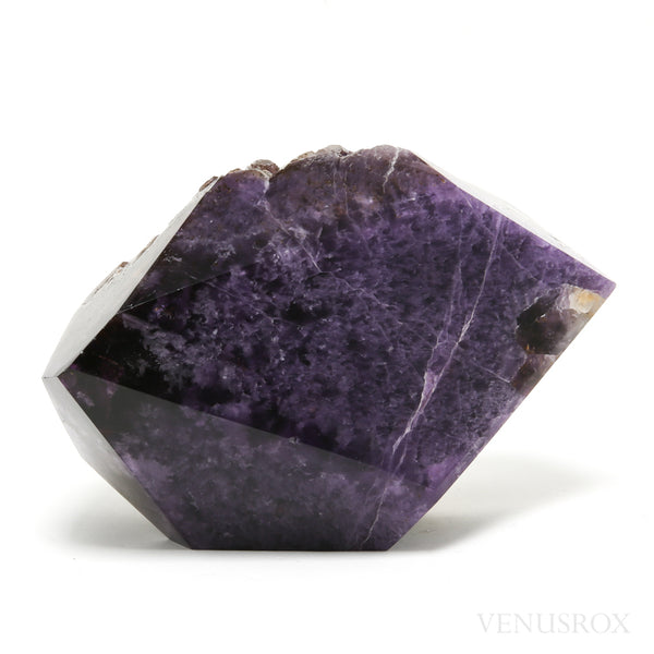 Amethyst Part Polished/Part Natural Crystal from Brazil | Venusrox