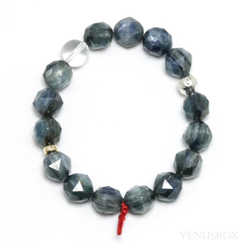 Green & Blue Kyanite Bracelet from Tanzania | Venusrox