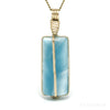 Larimar Polished Crystal Pendant from Dominican Republic, Caribbean Sea | Venusrox