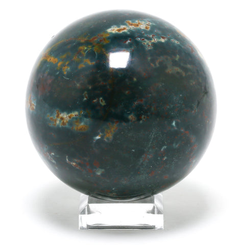 Bloodstone Polished Sphere from India | Venusrox Crystals