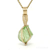 Green Tourmaline Natural Crystal Pendant from Afghanistan | Venusrox