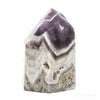 Amethyst (Chevron) Polished Point from Brazil | Venusrox