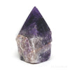 Amethyst (Chevron) Part Polished/Part Natural Point from Brazil | Venusrox