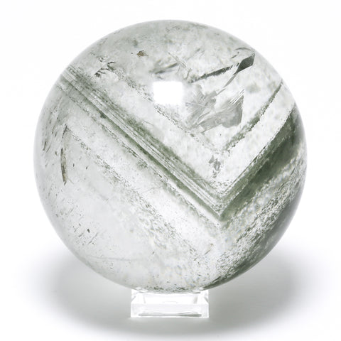 Quartz (Chlorite Phantom) Sphere