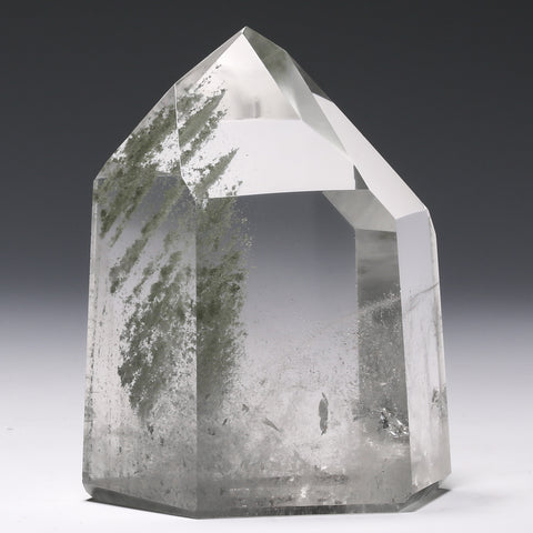 Quartz (Chlorite Phantom) Polished Point