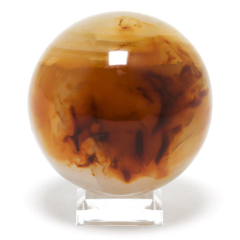 Carnelian Sphere from Madagascar | Venusrox Crystals