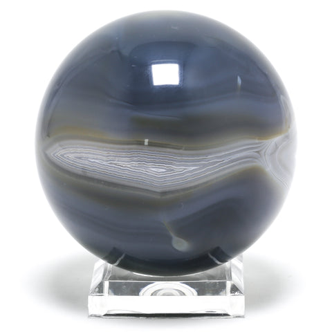 Agate Polished Sphere from Madagascar | Venusrox Crystals