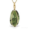 Moldavite Polished/Natural Crystal Pendant from Maly Chlum, Czech Republic | Venusrox