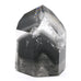 Black Phantom Quartz Polished Point from Minas Gerais, Brazil | Venusrox