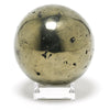 Chalcopyrite Polished Sphere from Peru | Venusrox