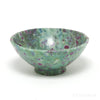 Ruby in Fuchsite & Blue Kyanite Polished Bowl from India | Venusrox