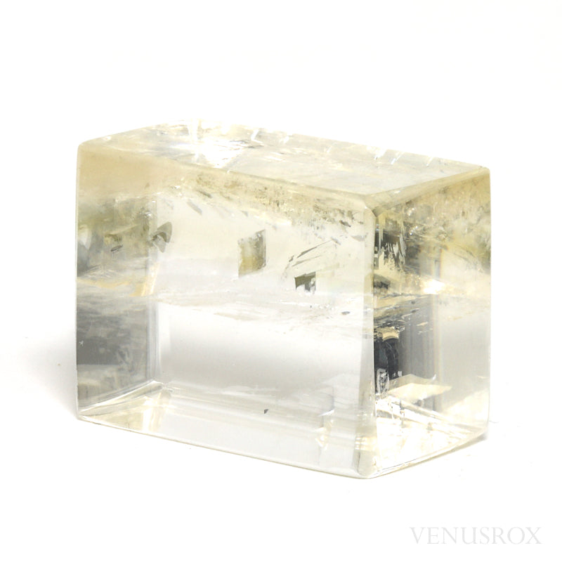 Honey Optical Calcite Polished Crystal from China | Venusrox